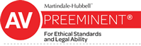 AV | Martindale-Hubbell | Preeminent | For Ethical Stansards and Legal Ability